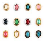 5pcs  Nail Alloy Jewelry Retro Random Color