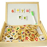 Multifunctional Learning Arithmetic Domino Box Of Letters