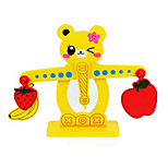 Children'S Educational Toys Classic Early Education Enlightenment Balance Toy The Bear Digital Fruit Balance