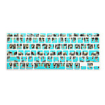 Elephant Pattern Silicone Keyboard Cover Skin for Macbook Air 13.3/Macbook Pro 13.3 15.4,US version