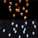 Decorative Props Haunted House Bar Supplies Shop Light Emitting Skull Halloween