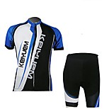 KEIYUEM Bike/Cycling Jersey / Clothing Sets/Suits Unisex Short SleeveBreathable / Quick Dry / Dust Proof / Wearable / Compression / Back