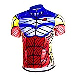 Sports Bike/Cycling Jersey + Shorts / Bottoms / Tops Men's Long Sleeve Breathable / Sweat-wicking Terylene / Tactel / Chinlon Slim Bisque
