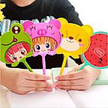 Cute Cartoon Fan Ballpoint Pupils Prizes Korea Creative Stationery