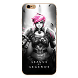 So Cool Ultra-thin Other TPU Soft League of Legends,So Cool Case Cover For  IPhone 5/6/6s/6plus/6s plus CFYX05