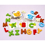 Export Trade Wooden Toys Educational Toys Educational Toys Cognitive Letter Card