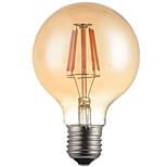 HRY® G95 6W E27 500LM 2700K 360 Degree LED Filament Light LED Edison Bulb(220-240V)