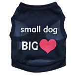 Gatti / Cani T-shirt Nero / Blu / Rosa Estate Floral / botanico Di tendenza, Dog Clothes / Dog Clothing-Pething®