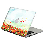 Flower Style Sticker Decal 014 For MacBook Air 11/13/15,Pro13/15,Retina12/13/15