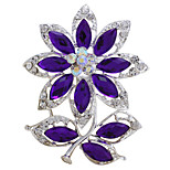 Vintage Fashion Summer Flower Brooches for Women Wedding Bouquet
