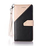 PU Leather Material Hand Stitching Color Pattern Rope Phone Case for iPhone 6s Plus / 6 Plus /6S/6
