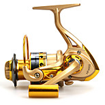Baitcast Reels 5.5:1 12 Ball Bearings Exchangable Sea Fishing / Bait Casting / Freshwater Fishing-Baitcast Reels other