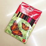 Hot Korea Wire-Bound Secret Garden Coloring Pen Color Of Lead [12] Color Box Of Colored Pencils