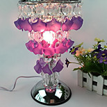 Beads Touch Sensor Fragrance Lamp Petals Swirling Decorative Table Nightlight