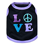 Dog T-Shirt / T-Shirt  A variety of colors / Summer  Floral / Hhearts Fashion