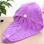 Korean Version Of The Solid Color Super-Absorbent Dry Hair Cap Super Absorbent Towel Dry Hair Magical Dry Shower Cap