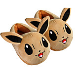 Pocket Little Monster Eevee With Ears Kigurumi Pajamas Warm Slippers With Collar and Heel Counter 28cm