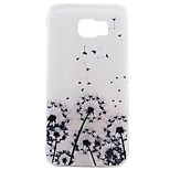 Dandelion Pattern Frosted TPU Material Phone Case for Samsung Galaxy S7 Edge Plus/S7 Edge/S7/S6/S5
