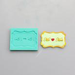 moldes de silicona mr tarjeta de chocolate, moldes para pasteles, moldes de jabón, herramientas de decoración para hornear
