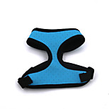 Cat / Dog Harness Adjustable/Retractable / Breathable / Vest / Soft Blue / Yellow / Rose Polypropylene Fiber