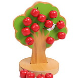 Magnetic Apple Tree Educational Toy