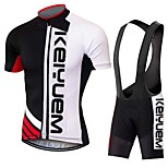 KEIYUEM®Others Summer Cycling Jersey Short Sleeves + BIB Shorts Ropa Ciclismo Cycling Clothing Suits #71