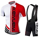 KEIYUEM®Others Summer Cycling Jersey Short Sleeves + BIB Shorts Ropa Ciclismo Cycling Clothing Suits #73