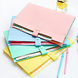 Multifunction Simple File Folder Into Sandwich Bags 5 Portfolio A4 Document Folder Package