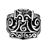 Fashion jewelry Men's / women's ring The ancient Maya Punk Style Vintage 316 l steel ring for party GMYR220