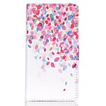 EFORCASE® Petal Painted PU Phone Case for Sony XPERIA M4/Z5/Z5mini