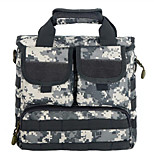 10 L Sling & Messenger Bag Camping & Hiking Outdoor Waterproof Gray / Black / Brown / Camouflage Nylon