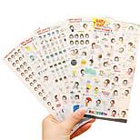 DIY photo album sticker 6 random color