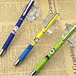 By People Who Pen 2271 Small Yellow Metal Rod Korean Small Fresh Student Calligraphy Pen Ink Pen