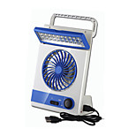 LED Light Fans/Flashlight With USB Rechargeable Desk Fan Air Cooling Laptop/Super Mute Lithium Battery Camping/Traveling