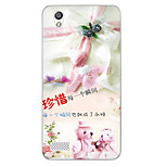 Cartoon Painting  TPU Soft for OPPO A51(cherish the moment)