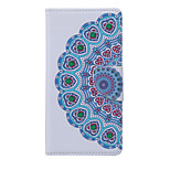 Mandala Pattern PU Leather Full Body Case with Stand and Card Slot for Samsung Galaxy S6 Active