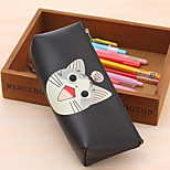 Hot Korean Cute Adorable Waterproof Eye Pencil In Hand Pu Perspective Pencil Stationery Bags
