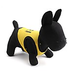 Gatti / Cani T-shirt Nero / Giallo Estate Floral / botanico Di tendenza-Pething®, Dog Clothes / Dog Clothing