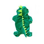 Gatti / Cani Costumi / Tuta Verde Inverno / Primavera/Autunno Fantasia animale Cosplay / Halloween, Dog Clothes / Dog Clothing-Other