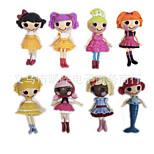 Mga Lalaloopsy Happy Angel Doll Ornaments Plastic Doll