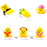 Adorable Cartoon Gudetuma Lazy Egg Yellow Jun Ornaments Toy Doll Model