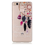 TPU + IMD Material Dreamcatcher Pattern Slim Phone Case for Huawei P9 Lite/P9/P8 Lite/Y625