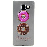 Macaroon Doughnut Pattern Pattern Relief Glow in the Dark TPU Phone Case for Motorola Moto G4/G4 Play