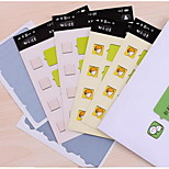 B1 61-7 South Korea Stationery Cute Micro Models Tuka Postcard Scratch Stickers