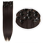 Cheap Hair Clip In Synthetic Hair Extensions 22