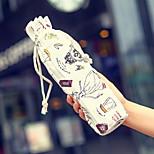 Cartoon Textile Water Bottle Bag