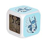 Cartoon Pet Colorful Luminous Alarm Clock-8#