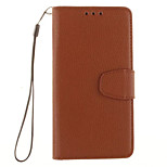 Litchi Grain Wallet Stand Shell Cover PU Leather With Cash Card Holder Phone Case For Huawei P8 Lite/P8/P9/P9 Lite/P7