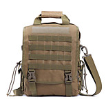 5 L Shoulder Bag Waterproof Army Green Nylon