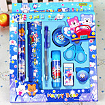 9Pcs/Set School Supplies to Learn Gifts(Random Styles)